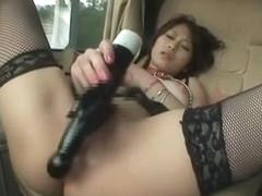 Best Japanese slut Saki Ootsuka in Hottest Masturbation/Onanii, Stockings/Pansuto JAV video