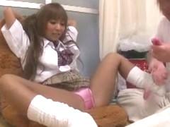 Exotic Japanese model in Horny Handjobs, Foot Fetish JAV movie