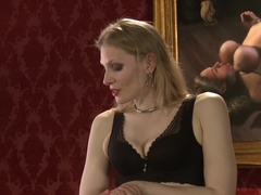 Best fetish, public porn clip with horny pornstars Bella Rossi, Shay Tiziano and Maestro Stefanos .