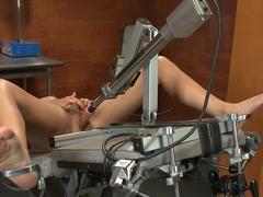 Crazy fetish sex movie with exotic pornstar Alexa Jaymes from Fuckingmachines