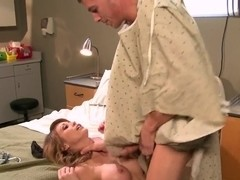 Sexy nurse Monique Alexander wants to do her patient happy