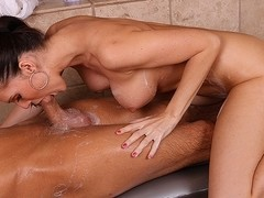 Jennifer Dark in I Love Soapy Massage Video