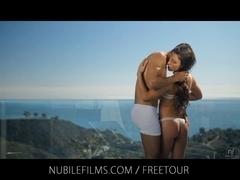 Nubile Films - Sultry vixen Vanessa Sixxx bonks neighbour on