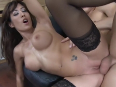 Capri Cavalli is too interested in her client