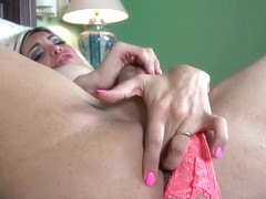 Angeles Cid in Cumming in Pink - AngelesCid
