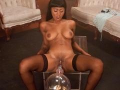 tic fetish sex movie with fabulous pornstar Evanni Solei from Fuckingmachines