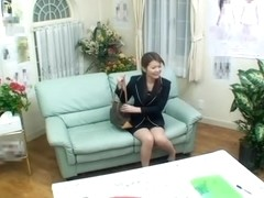 Angel with lustful yoni is drilled hard by japanese chopper