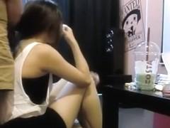 Chinese Hairjob 7