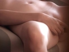 Video of a slut toying her muff