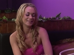 Horny pornstars Paige Ashley and Kaia Kane in hottest dildos/toys, lesbian adult movie