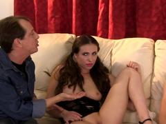 Crazy pornstar Aiden Ashley in Fabulous Natural Tits, Cunnilingus porn clip