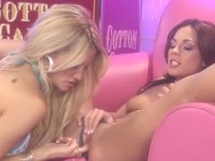 Amazing pornstars Jessica Drake and Kristen Price in horny blonde, lesbian porn video