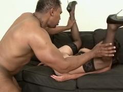 Amazing pornstar Shirley Dimples in horny interracial, dildos/toys xxx clip