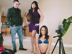 Mercedes Carrera and Sara Luvv in Caught Camming On The Job