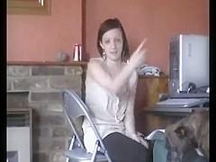 British Chav Gives A Great Blowjob Fun With Facial