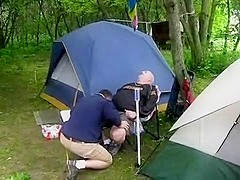 Bear Camping oral-sex
