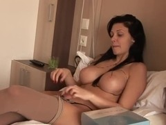 Extremely hot striptease from Aletta Ocean