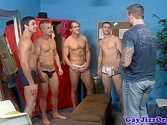 Gaysex hunks cocksucking orgy fun
