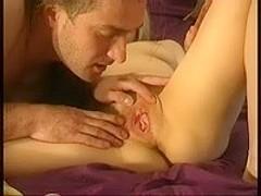 Guy eats ripe wet pussy