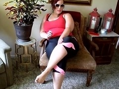 BBW Ursula Sward Playing With Herself