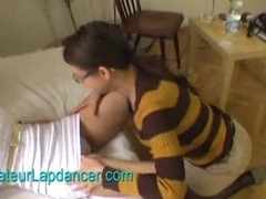 Amateur tattooed chick - strip and hot lapdance