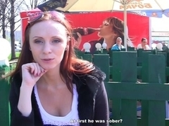 Meet and redhead screwed in the park