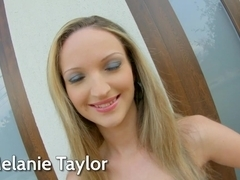 Allinternal Melanie Taylor has her ass filled with cream
