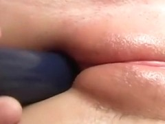 college girl Vicky fucking plaything - more on sexcam-live.biz