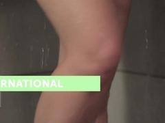 Best pornstar Anna Tatu in Crazy Big Tits, Showers porn scene