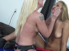 Amazing pornstars Carmen Caliente, Leya Falcon in Incredible Dildos/Toys, Big Tits porn scene