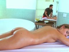 Best pornstar Ella Milano in Hottest Massage, Medium Tits porn video