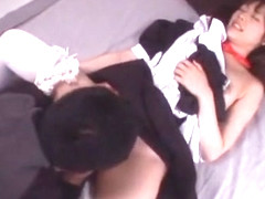 Hottest Japanese girl in Horny Squirting/Shiofuki, Cunnilingus JAV movie