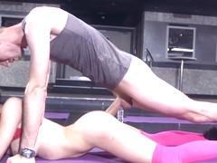 Sophia Laure & Danny D in Sweaty Ass Workout - Brazzers