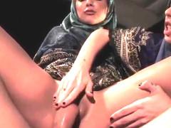 Muslim chick banged in head scarf