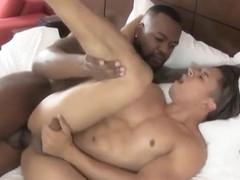 Black daddy latino boy