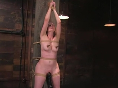 Horny slut Lady Kat made to fend off her orgasms, and love it!