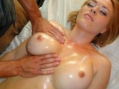 Krissy Lynn in Busty Blonde Bitch Massage - PornPros Video