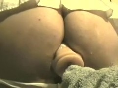 This mother i'd like to fuck white lady showed on web camera how that honey rides a big sex toy
