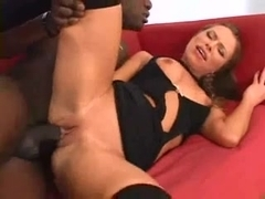 Mommie Sucking the Black Cock