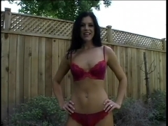 India Summer Pov Slammed In Backyard