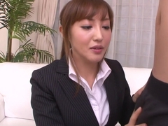 Fabulous Japanese girl Mami Asakura in Incredible JAV uncensored Blowjob video