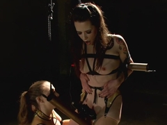 Hardcore Latex Painslut Electrofuck