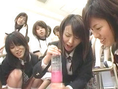 Hottest Japanese whore in Fabulous Group Sex, Hairy JAV video