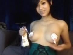 Exotic Webcam record with Asian scenes