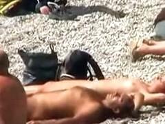 Nudist beach pervert clicks away at barenaked ladies