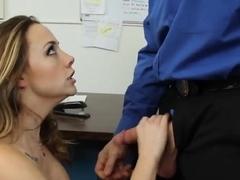 Hot Chanel Preston and her boss Evan Stone