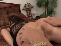 Fabulous pornstar in horny brunette, cumshots adult clip