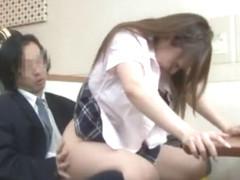 Exotic Japanese girl Mio Kuraki in Best Blowjob/Fera, Facial JAV clip
