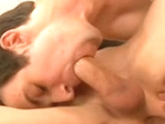 bodybuilders and longhaired golden-haired twink