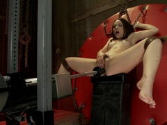 Amazing fetish xxx scene with best pornstar Kristina Rose from Fuckingmachines